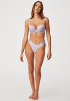 Cotton On - Party pants seamless g-string brief - lilac dream