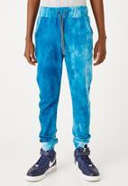 Flyersunion - Ub fleece spectra-dye jogger - teal