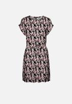 Vero Moda - Simply easy short sleeve short dress - multi
