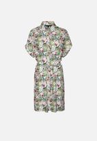 Vero Moda - Simply easy short sleeve shirt dress - multi