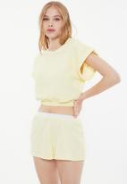 Trendyol - Sari sleepwear set - yellow