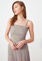Trendyol - Lila strap dress - lilac