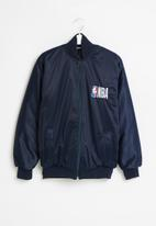 NBA - Nba icon logo bomber jacket - navy