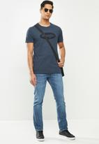 Wrangler - Living to the limit tee - navy