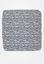 UP Baby - Baby boys printed blanket - grey & navy