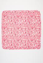 UP Baby - Baby girls heart blanket - pink