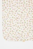 UP Baby - Baby girls floral blanket - multi