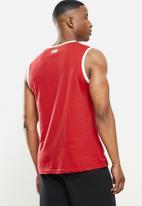 NBA - Bulls red retro vest straight hem - red