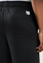 NBA - Warriors basketball retro shorts - black