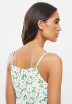 Glamorous - Daisy woven dress - green