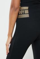 SISSY BOY - Gym pants - black