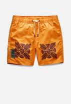 G-Star RAW - Dirik token swimshort - amber
