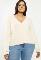 Cotton On - Curve super luxe cardi - neutral
