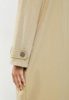 Cotton On - The mac trench - washed taupe