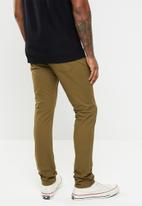 Jonathan D - Five pocket slim fit trouser - khaki