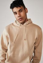 Factorie - Basic hoodie - chalk yellow