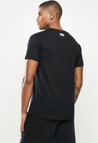 NBA - Icon bull straight hem printed T-shirt - cotton single jersey - black
