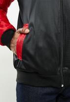 NBA - Bulls icon logo bomber jacket - black