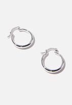 Rubi - Premium everyday hoop - sterling silver