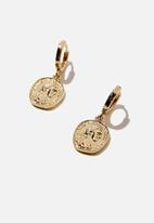 Rubi - Premium huggie hoop - gold plated