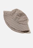 Rubi - Bianca bucket hat - neutral