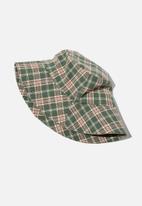 Rubi - Bianca bucket hat - green