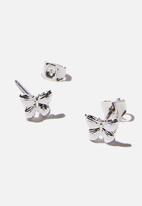 Rubi - Premium stud earrings - sterling silver