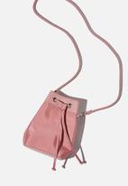 Rubi - Mini bucket bag - petal pink