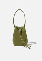 Rubi - Mini bucket bag - soft moss