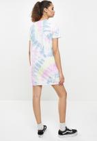 Vans - Spiraling tee dress - multi