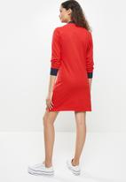 Aca Joe - Long sleeve dress - red