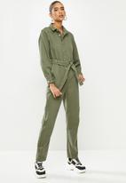 Glamorous - Boilersuit - khaki