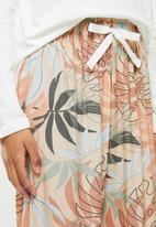 Superbalist - Sleep long sleeve top & pants set - multi