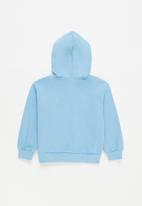 POP CANDY - Younger boys 2 pack graphic hoodies - grey & blue