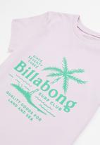 Billabong  - Boys surfclub tee - purple