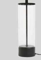 Sixth Floor - Martha table lamp - black