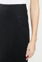 POLO - Caty stretch pencil skirt - black