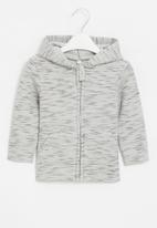 POP CANDY - Baby boys styled jacket - grey