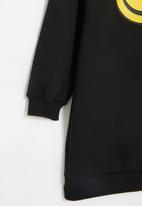 Superbalist - Girls fleece sweater dress - black