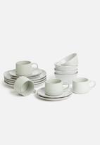 Sixth Floor - Ripple bowl set of 4 - grey