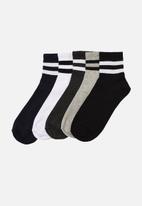 Trendyol - Stripe 5 pack socks - multi