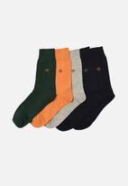 Trendyol - Solid 5 pack socks - multi