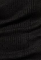 G-Star RAW - Rib tank dress- black