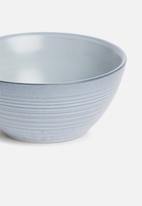 Sixth Floor - Blurr bowl set of 4 - blue