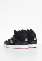 DC - Pure high top - black/pink
