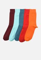 Trendyol - Colourful 5 pack socks - multi