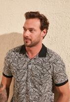 Trendyol - Printed short sleeve golfer - grey