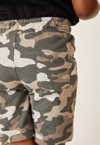 Flyersunion - 2 pack fleece short - multi
