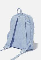 Cotton On - Back to school cord backpack - sky haze