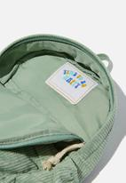 Cotton On - Back to school cord backpack - smashed avo